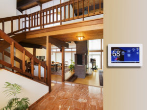 Programmable Thermostat For Temperature Control In